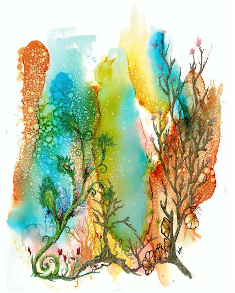 Terracotta Sea Hds Art | Art With Judy Ann