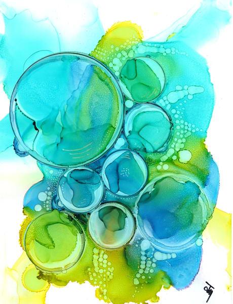 Aqua Hds Art | Art With Judy Ann