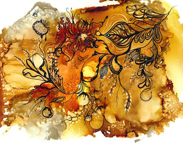 Butterscotch 2 Hds Art | Art With Judy Ann