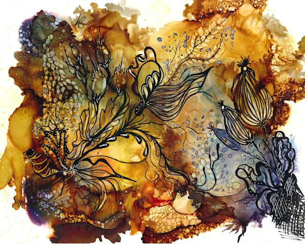 Butterscotch 1 Hds Art | Art With Judy Ann