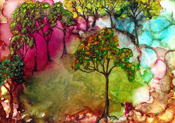 Alices Orchard Hds Art | Art With Judy Ann