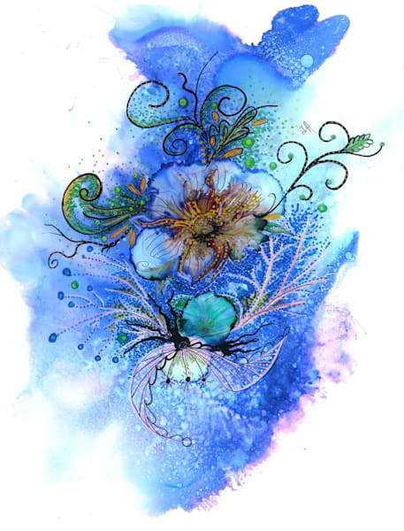 Purple Twilight Hds Art | Art With Judy Ann