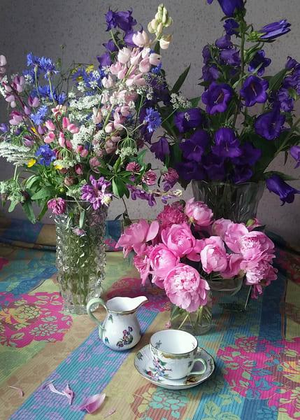 Still Life With Tea Cup Art | smalljoysstudio