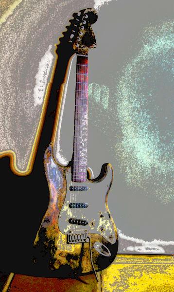 Visual Guitar Solo Art | Rock Kandy