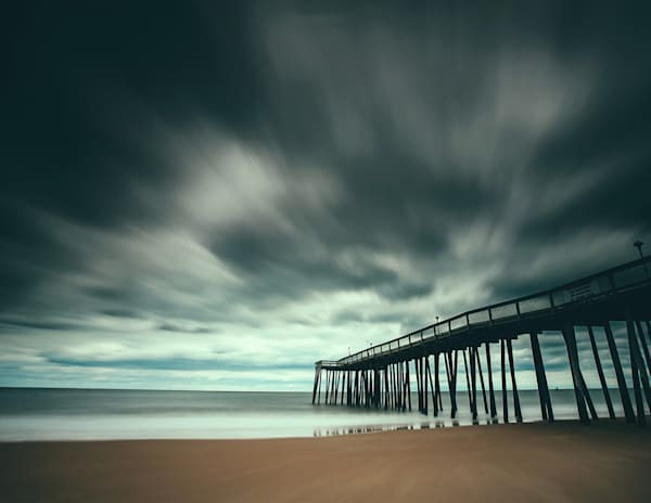 Pier And Sky Photography Art | Silver Sun Photography