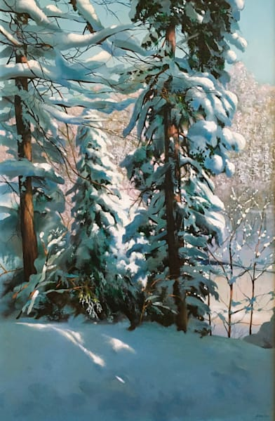Hiawatha Winter 2 Art | MANTHA DESIGN
