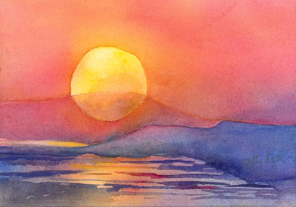 Irish Sunrise 2 Art | ArtByPattyKane
