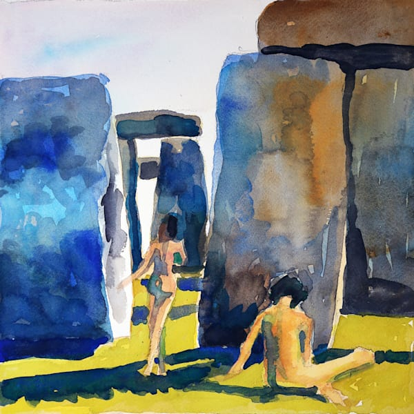 Stonehenge Ii Art | Courtney Miller Bellairs Artist