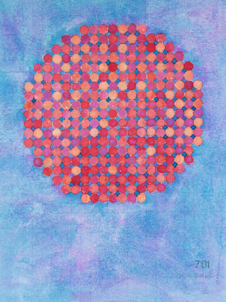 Circle Circle, Fireworks Art | Courtney Miller Bellairs Artist