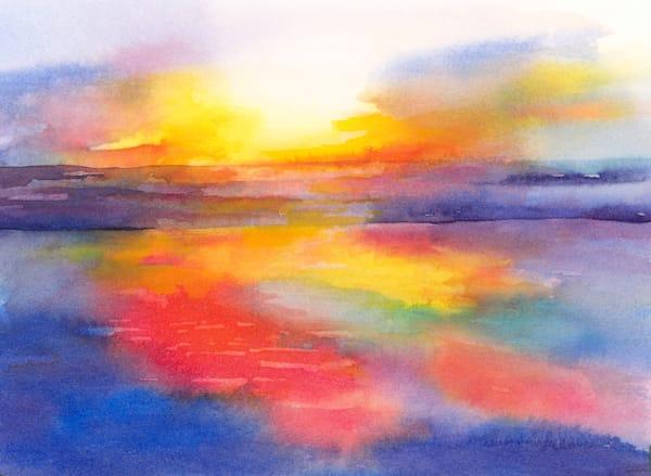 Summer Sunset Art | ArtByPattyKane