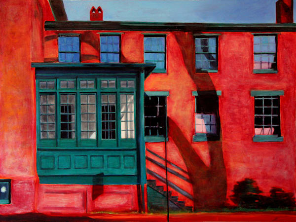 Red House Green Room Art | Courtney Miller Bellairs Artist