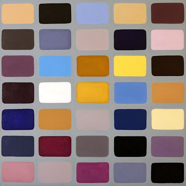Eyeshadow Palette Art | Courtney Miller Bellairs Artist
