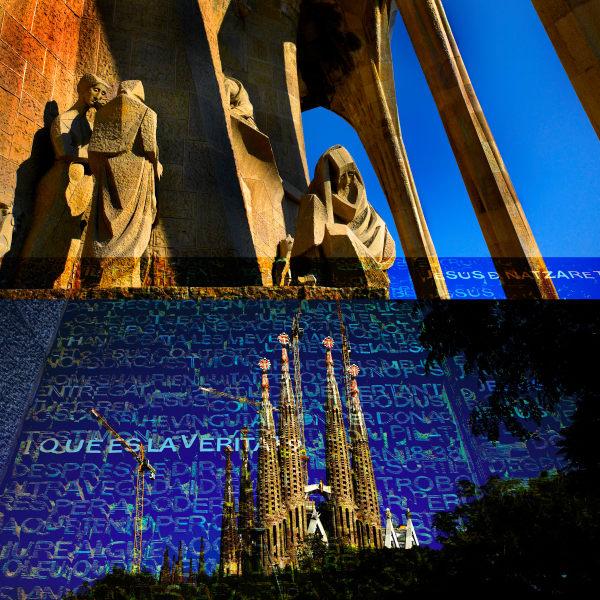 Collage - Sagrada Familia - Spire & Passion square2