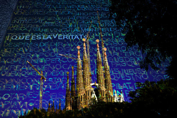 Collage - Sagrada Familia - Spires