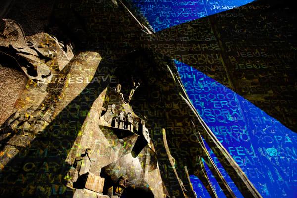 Collage - Sagrada Familia - Passion Facade
