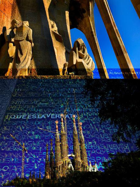 Collage - Sagrada Familia - Spire & Passion