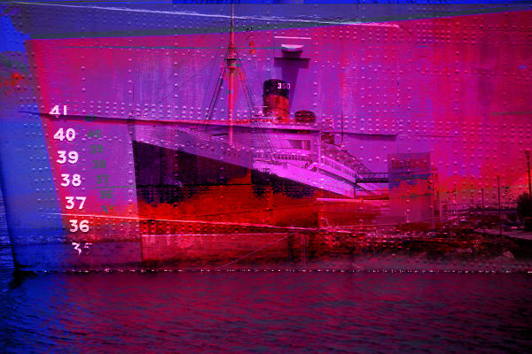 Collage - Queen Mary - Water line
