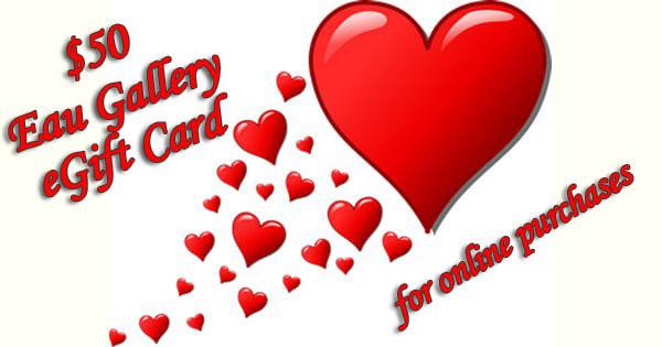 $50 Eau Gallery eGift Card