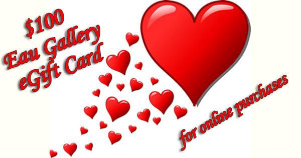 $100 Eau Gallery eGift Cards
