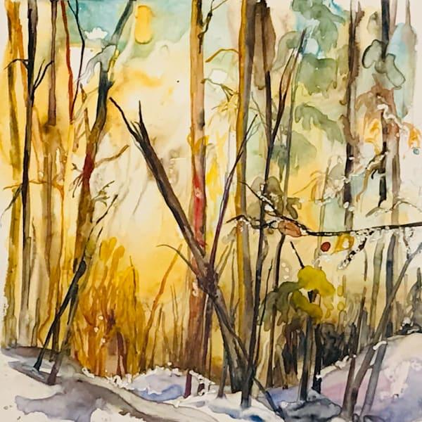 Winter In The Valley Art | Karen Bishop Artist
