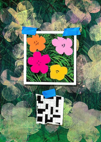 Andy's Flowers Art | Richard Hall Fine Art