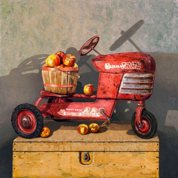 Apple Peddler Art | Richard Hall Fine Art