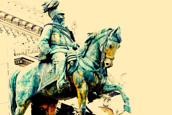 "Shop for ""Il Vittoriano"" Photographic Art | Equestrian King I"