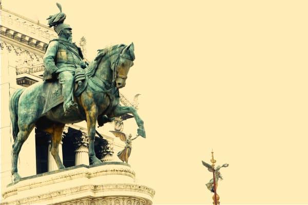 "Shop for ""Il Vittoriano"" Photographic Art | Equestrian King II"