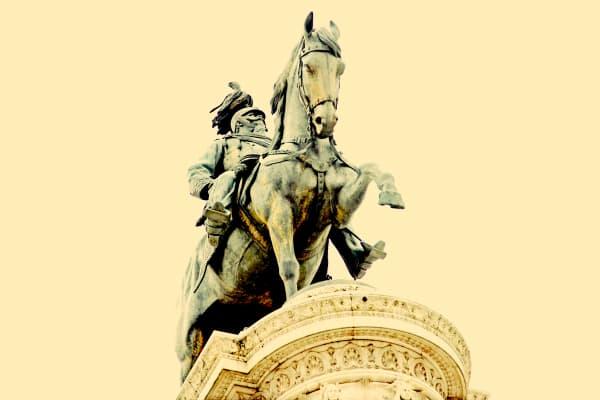 "Shop for ""Il Vittoriano"" Photographic Art | Equestrian King III"