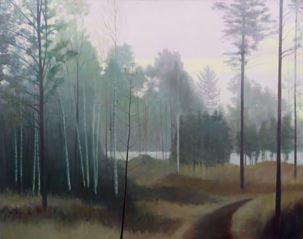 Misty Morning  Art | Lidfors Art Studio