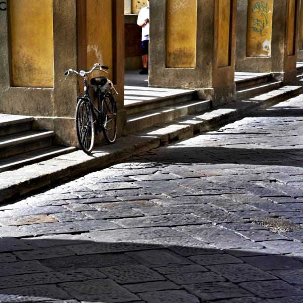 Shop for Florence, Italy Photographic Art | Bicycle in Waiting