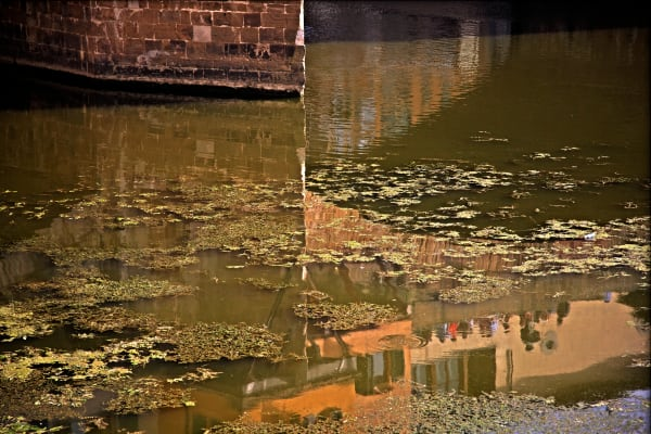 Shop for Florence, Italy Photographic Art | Arno under Ponte Vecchio