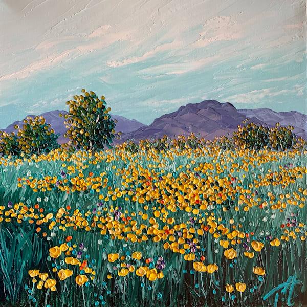If Flowers Chose Their Home   Original Oil Painting Art | Tessa Nicole Art