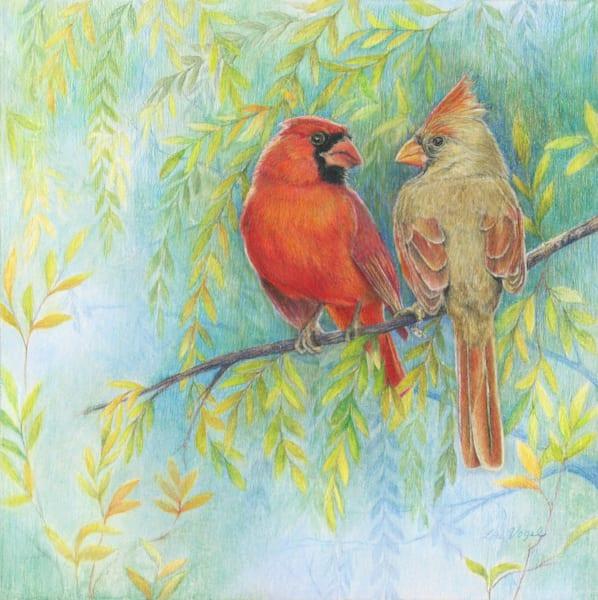 Scarlet Summer Art | Lori Vogel Studio