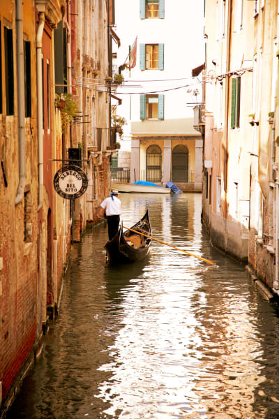 Shop for Venice, Italy Photographic Art | The Gondolier