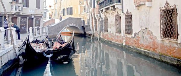 Shop for Venice, Italy Photographic Art | Moored Gondolas