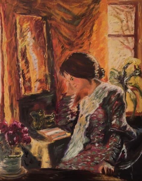 Vanessa's Reading Room Art | Scott Dyer Fine Art