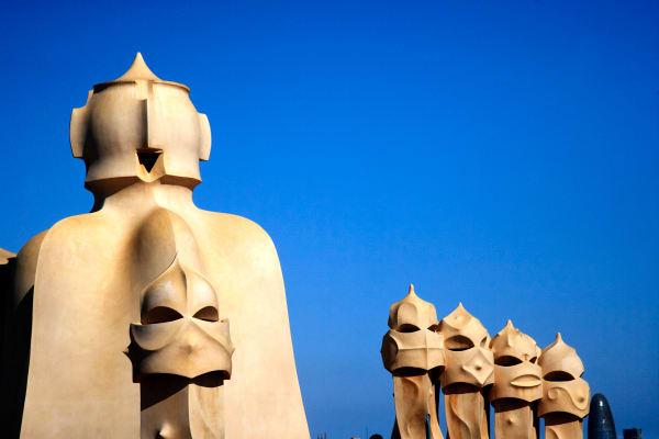 Shop for Photographic Art of Barcelona, Spain | Gaudi's Sculpture V