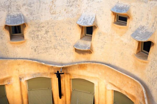 Shop for Photographic Art of Barcelona, Soain | Windows of La Pedrera II