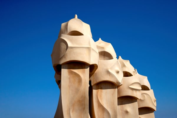 Shop for Photographic Art of Barcelona, Spain | Gaudi's Sculpture VI