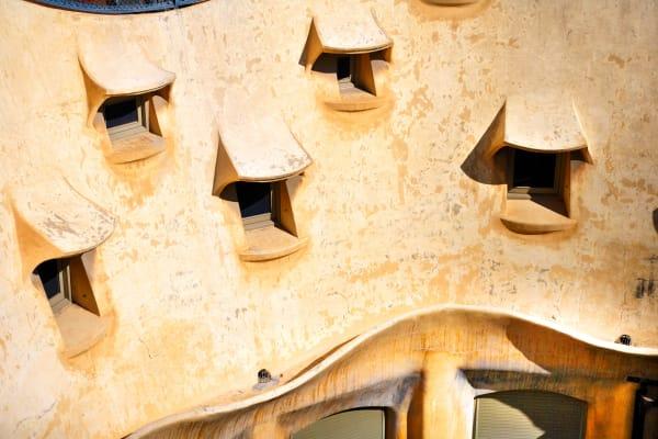 Shop for Photographic Art of Barcelona, Soain | Windows of La Pedrera III