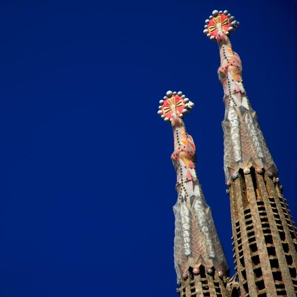 Shop for Sagrada Familia Photographic Art | Spires of La Sagrada Familia