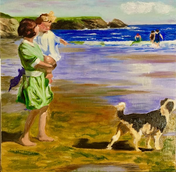 Beach Outing Art | Scott Dyer Fine Art