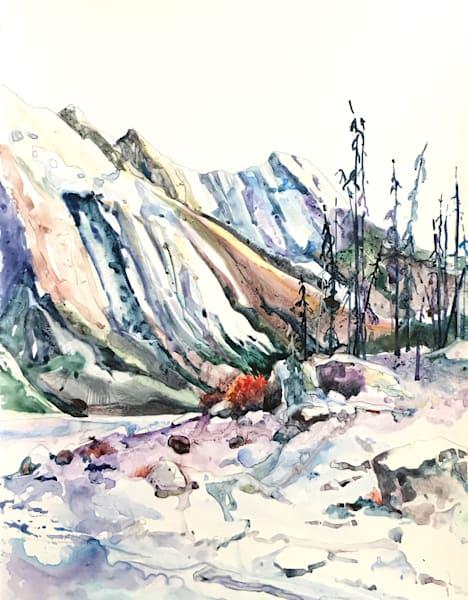 Winter On Medicine Lake Art | Karen Bishop Artist