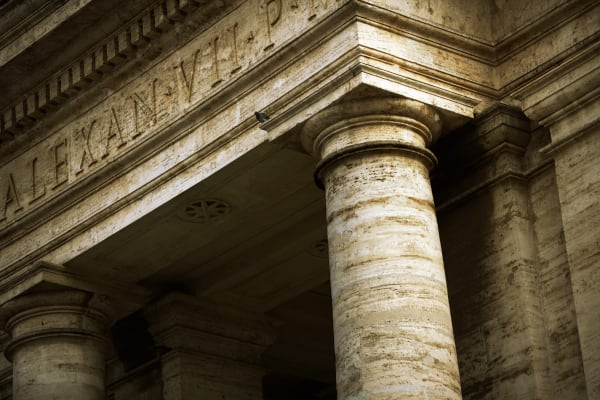 Shop for Rome, Italy Photographic Art | Column Detail