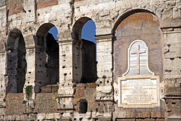 Shop for Rome, Italy Photographic Art | Colosseum Dedication