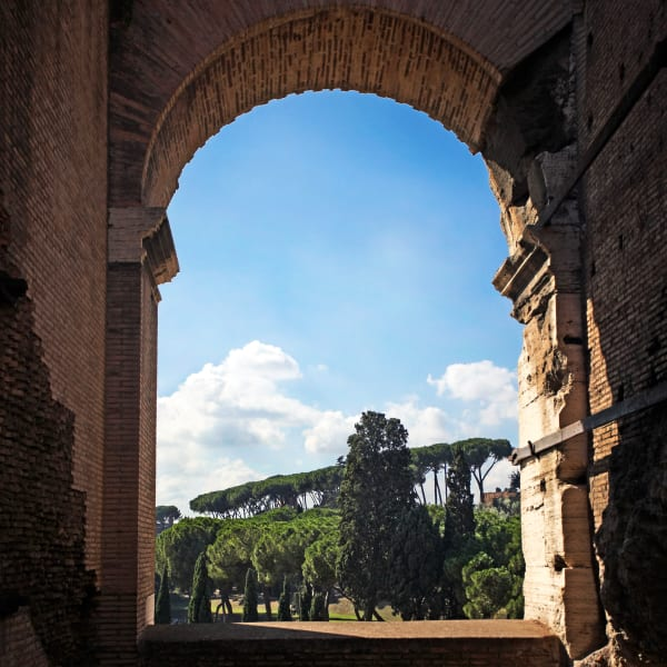 Shop for Rome, Italy Photographic Art | Through the Arches of the Colosseum IV