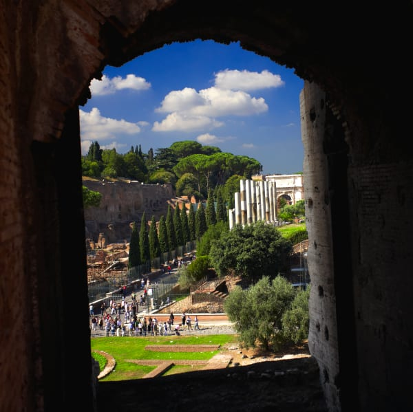 Shop for Rome, Italy Photographic Art | Through the Arches of the Colosseum III