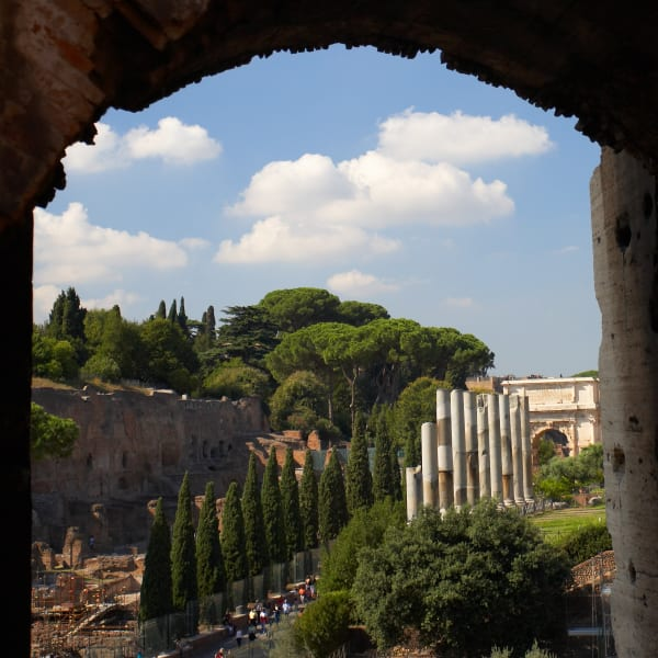 Shop for Rome, Italy Photographic Art | Through the Arches of the Colosseum II