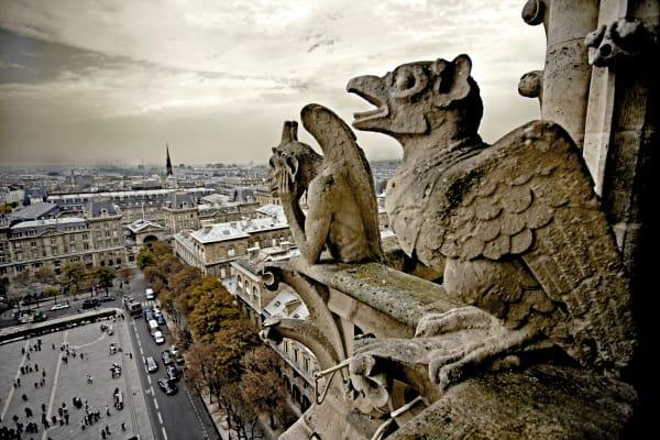 Shop for Photographic Art of Paris, France | Gargoyles I